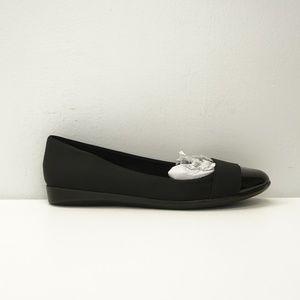 Bandolino Slip On Low Wedge Loafer Black 8